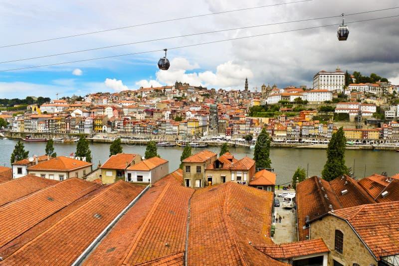 Vista de Porto, Portugal imagens de stock