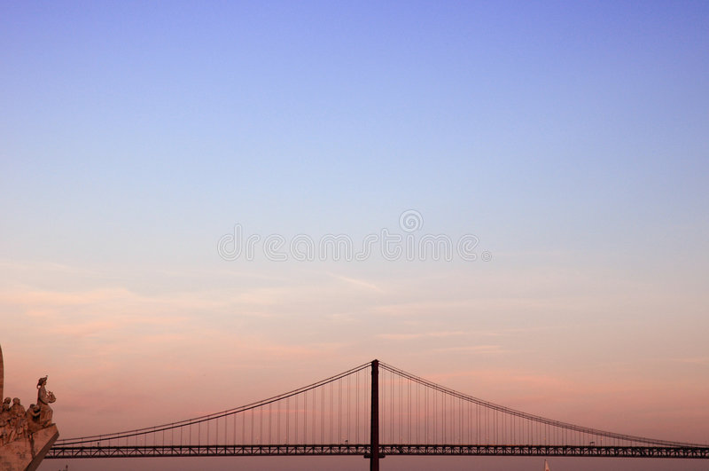 Vista de Portugal fotografía de archivo