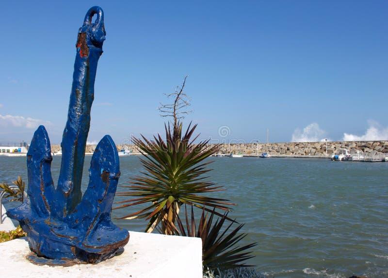 Vista de Puerto Duquesa fotografía de archivo