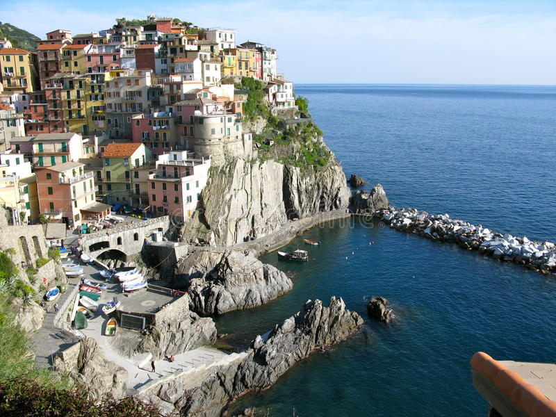 Vista de Río Maggiore, Italia foto de archivo libre de regalías