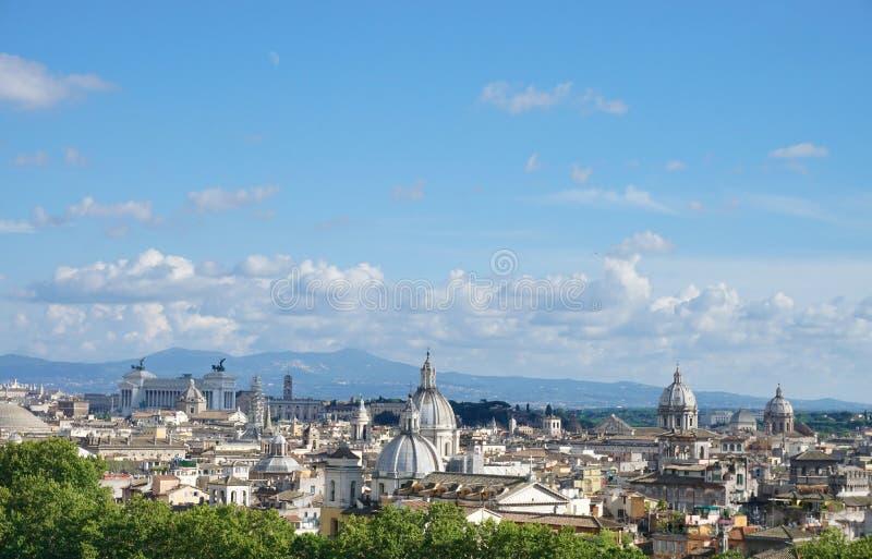 Vista de Roma foto de archivo