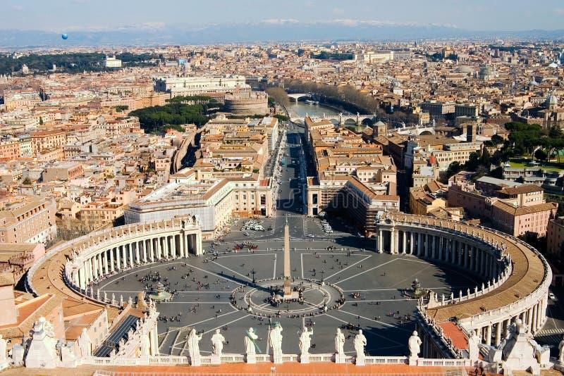 Vista de Roma fotos de stock royalty free