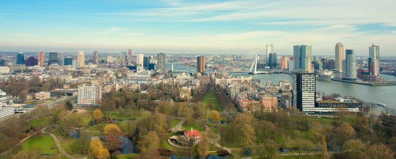 Vista de Rotterdam imagem de stock