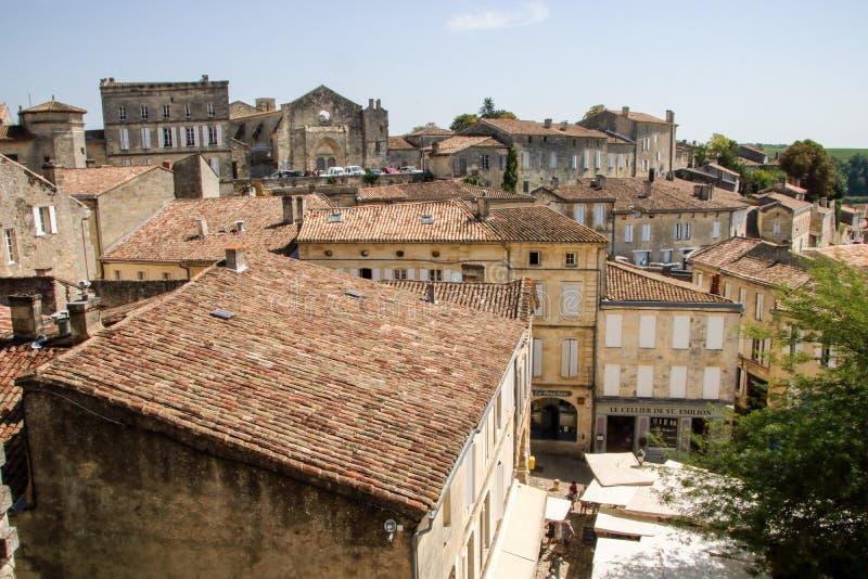 Vista de Saint Emilion imagem de stock