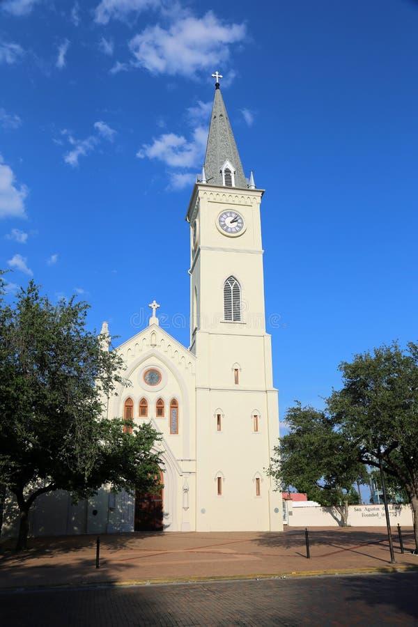Vista de San Augustin Plaza imagem de stock