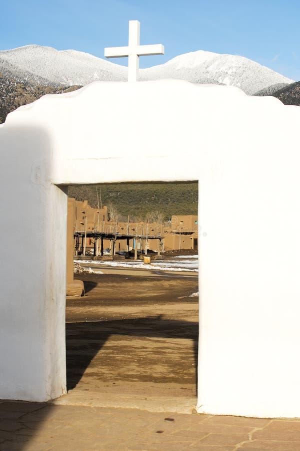 Vista de San Geronimo Chapel fotos de stock