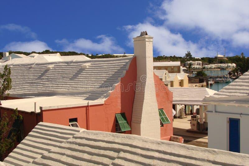 Vista de San Jorge Bermudas imagenes de archivo
