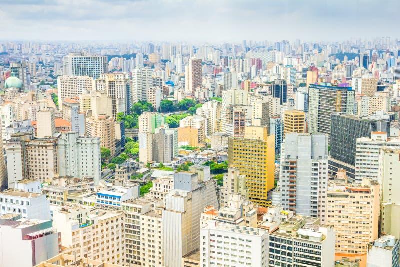 Vista de Sao Paulo fotos de stock