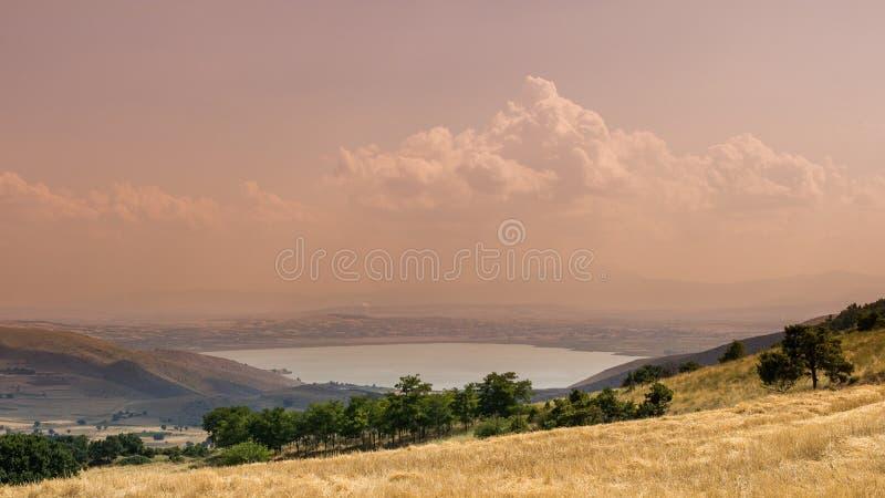 Vista de Serres, Grecia imagen de archivo libre de regalías