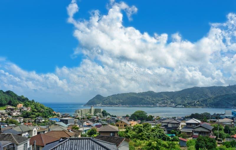 Vista de Shizuoka, Japão imagens de stock