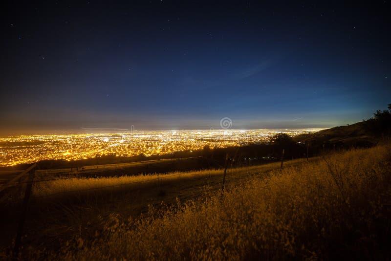 Vista de Silicon Valley fotografía de archivo
