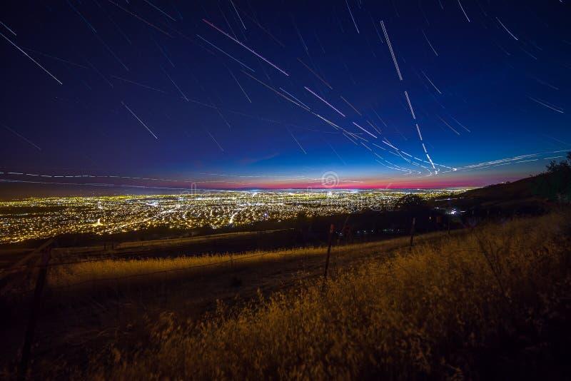 Vista de Silicon Valley foto de archivo libre de regalías