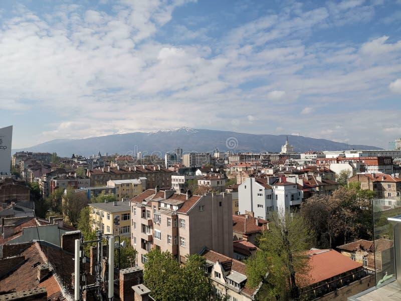 Vista de Sof?a, Bulgaria imagen de archivo libre de regalías