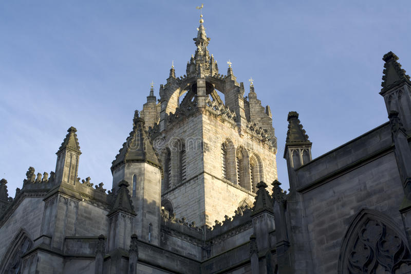 Vista de St Giles fotografia de stock royalty free