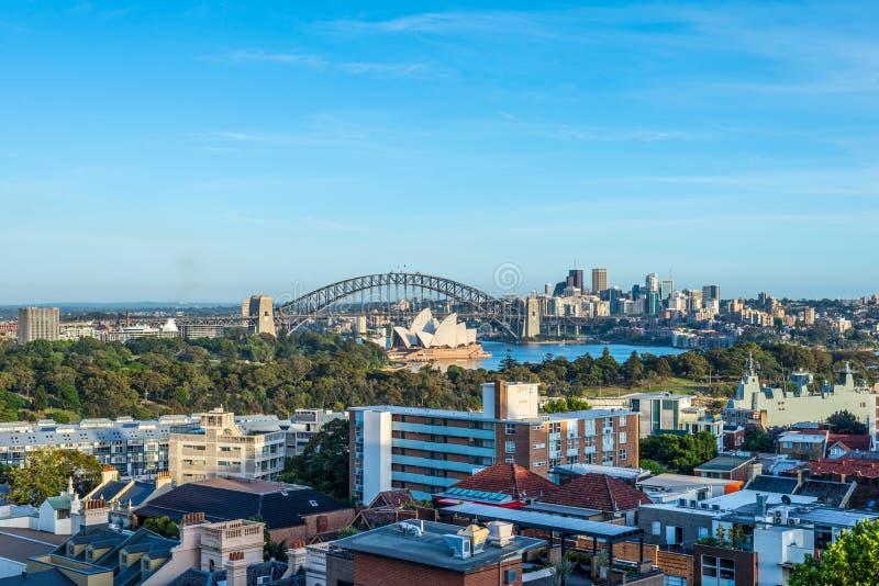 Vista de Sydney - Australia imagenes de archivo