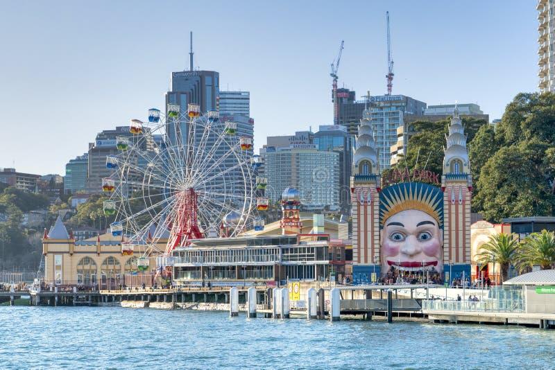 Vista de Sydney Harbor fotos de stock