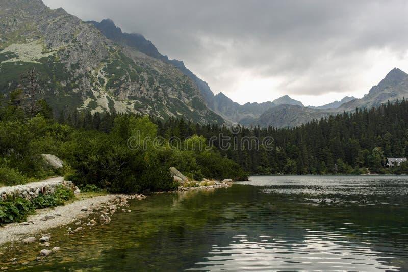 Vista de Tatras alto imagens de stock royalty free