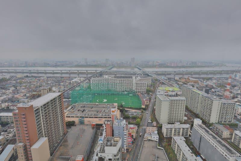 Vista de Tokio en Funabashi foto de archivo libre de regalías