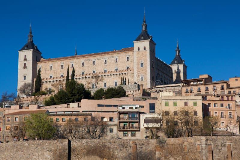 Vista de Toledo imagens de stock