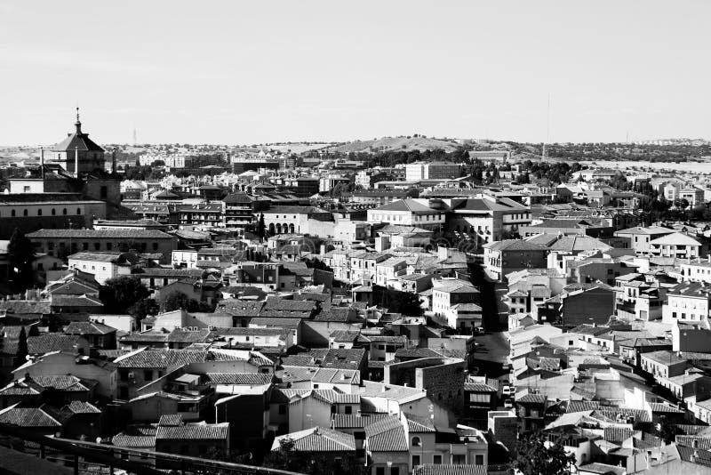 Vista de Toledo imágenes de archivo libres de regalías