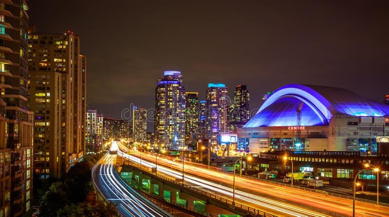 Vista de Toronto céntrica imagen de archivo