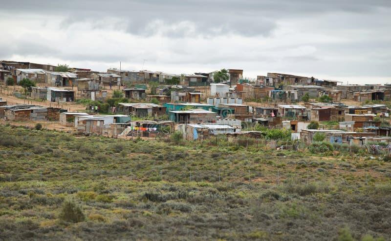 Vista de un municipio en Suráfrica imágenes de archivo libres de regalías