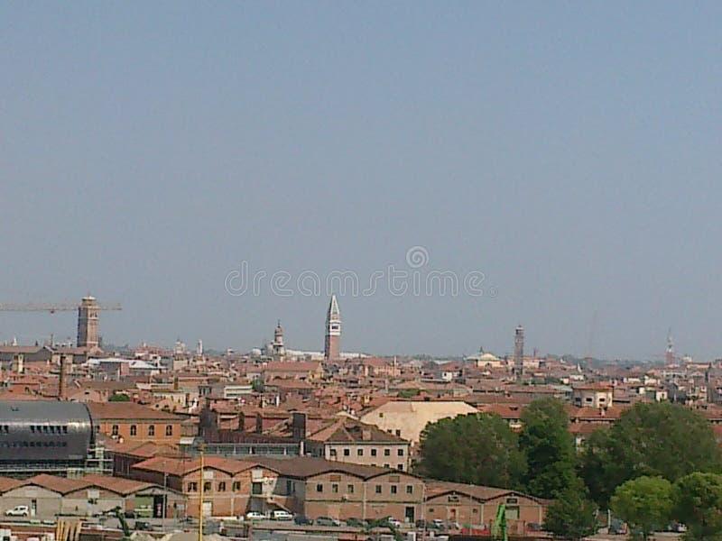 Vista de Venecia imágenes de archivo libres de regalías