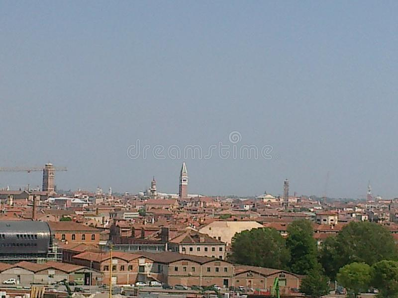 Vista de Veneza imagens de stock royalty free