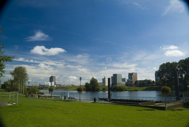 Vista de Venlo, los Países Bajos imagenes de archivo
