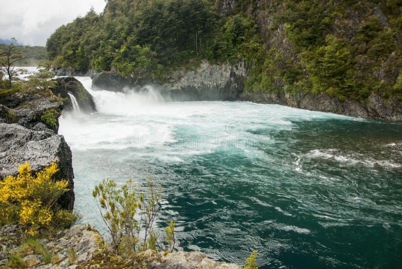 Vista de Vicente Perez Rosales National Park - Chile imagen de archivo