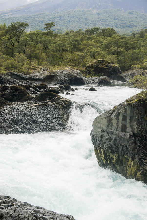 Vista de Vicente Perez Rosales National Park - Chile imagenes de archivo