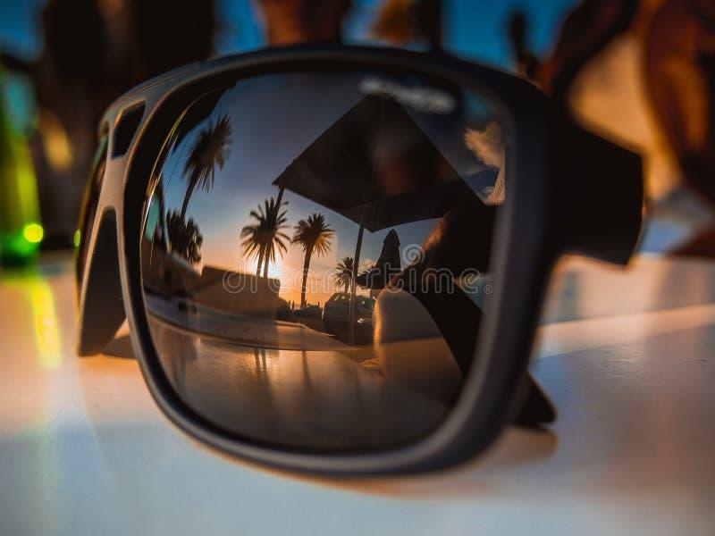 Vista de vidro foto de stock