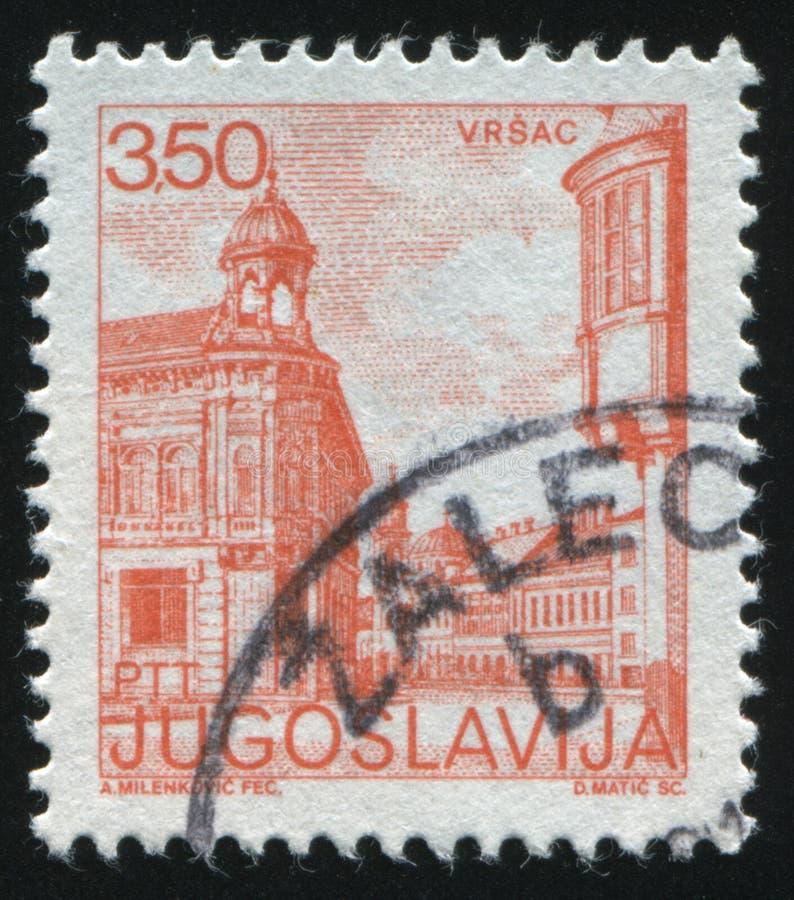 Vista de Vrsach imagens de stock