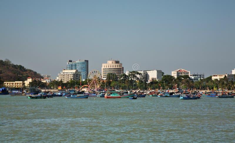 Vista de Vung Tau Vietnam imagenes de archivo