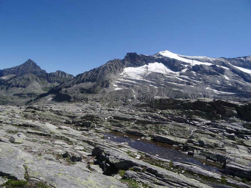 Vista de Weissee, fotografia de stock