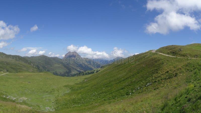 Vista de Wildkogel, Neukirchen, Áustria foto de stock royalty free