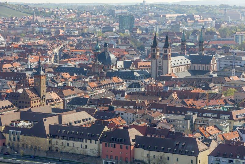Vista de Wurzburg, Alemania. fotos de archivo libres de regalías