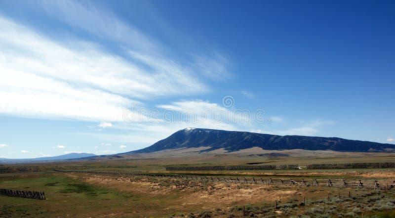 Vista De Wyoming Imagem de Stock Royalty Free