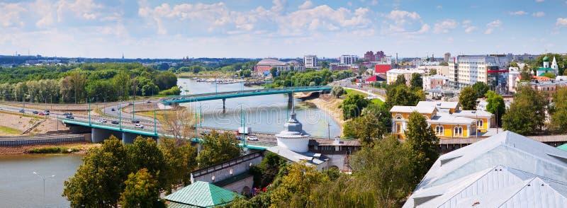 Vista de Yaroslavl fotografía de archivo libre de regalías