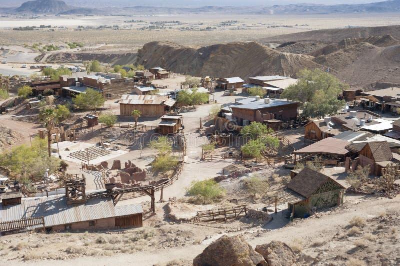Vista del calicó, California, San Bernardino County fotos de archivo libres de regalías