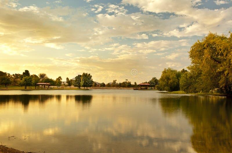 Vista Del Camino Park de Scottsdale Arizona fotos de archivo