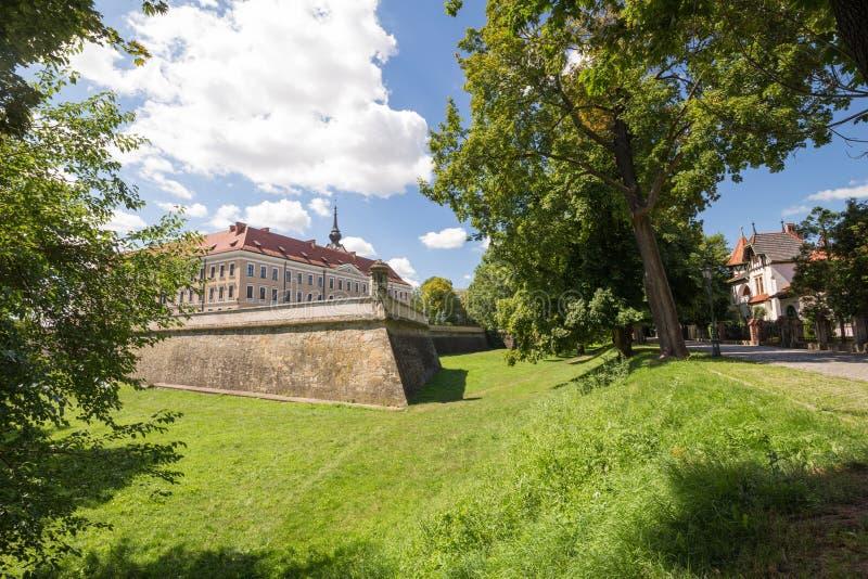 Vista del castello Rzeszow/Polonia fotografia stock libera da diritti