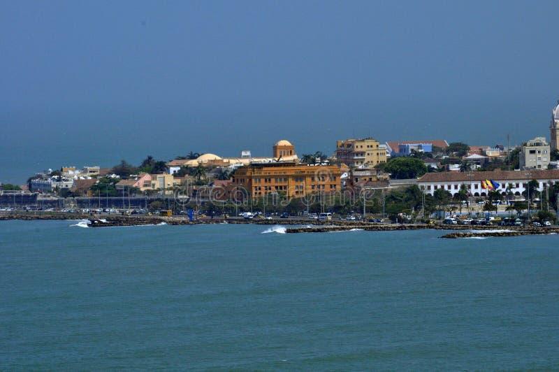Vista del centro histórico de Cartagena, Colombia fotos de archivo