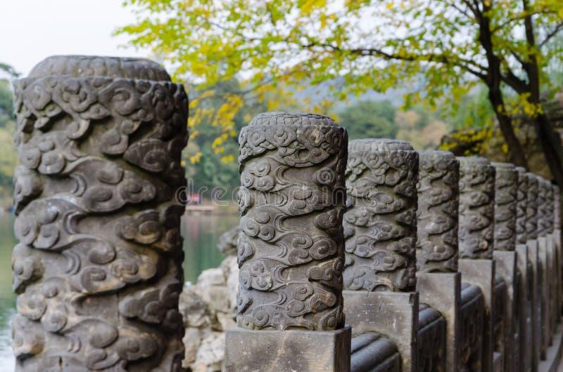 Vista del centro turístico de montaña del verano del ` s de Kangxi del emperador en la provincia del ¼ Œ Hebei de Chengdeï, China imagenes de archivo