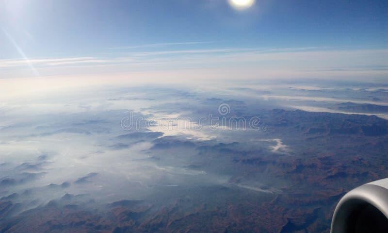 Vista del cielo fotografia stock libera da diritti