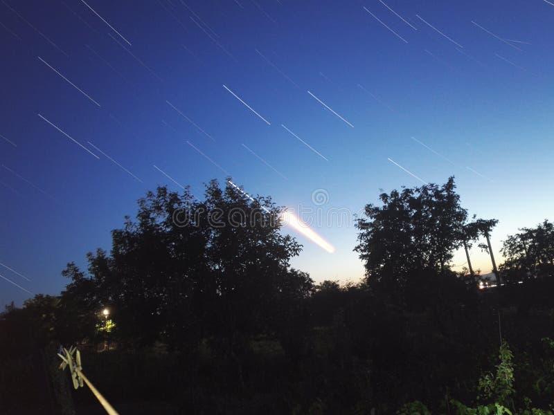 Vista del cielo fotografie stock