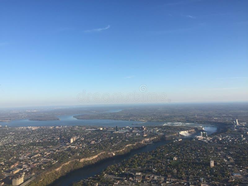 Vista del cielo fotografia stock
