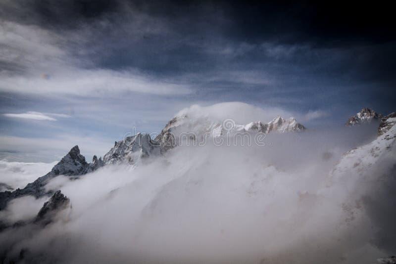 Punta Helbronner Di Skyway Terminale Di Monte Bianco