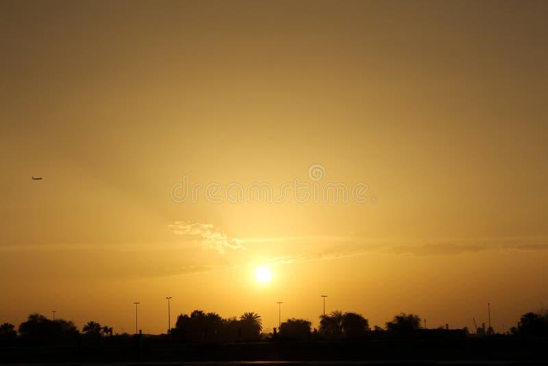 Vista del Dubai fotografie stock