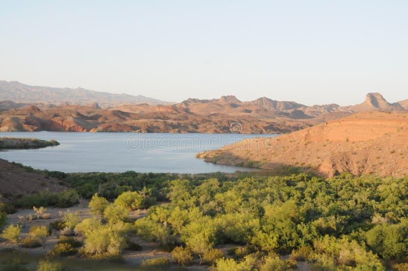 Vista del fiume Colorado immagini stock